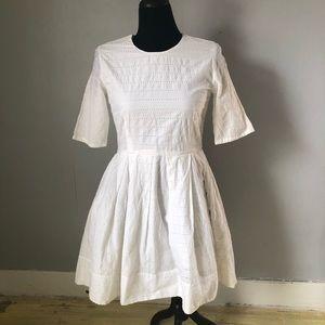NWT Gap Eyelet Dress sz 6